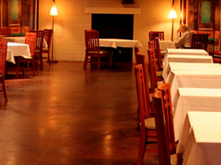 Stained Concrete for restaurant floors