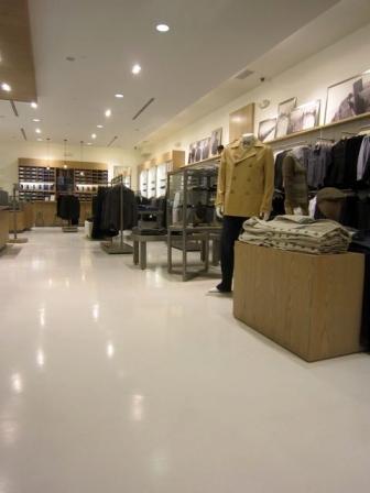 Boston Retail Store Design - Decorative Concrete Floor Ideas ...