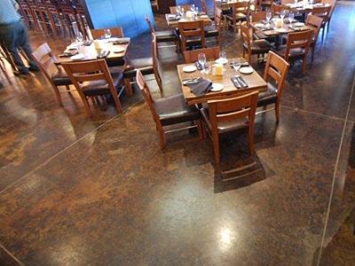 Restaurant Flooring In Boston Local Area Boston Concrete Floor - Epoxy floor coating for restaurants